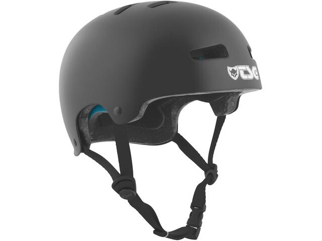 TSG Evolution Solid Color Cykelhjelm Børn, satin black